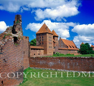 Malbork Castle, Malbork, Poland 05 – Color