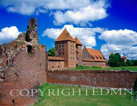 Malbork Castle, Malbork, Poland 05 – Color