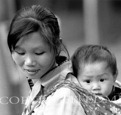 Mother And Child, China 90
