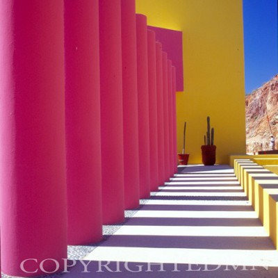 Pink Columns #1, Los Cabos, Mexico 05 – Color