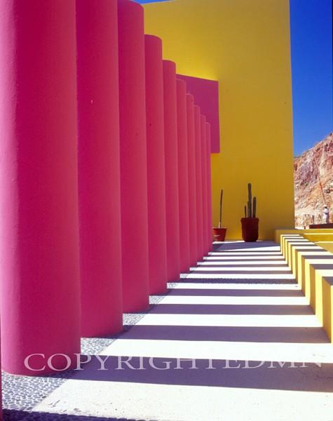 Pink Columns #1, Los Cabos, Mexico 05 – Color