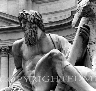 Neptune, Rome, Italy