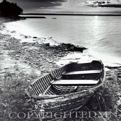 Abandoned Boat, Ontario, Canada