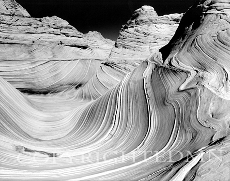 Sandstone Sculpture, Vermillion Cliffs Wilderness, Arizona 05
