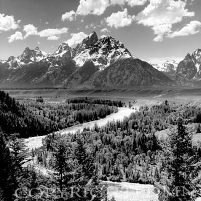 Snake River & The Tetons #2 (V), Jackson Hole, Wyoming 95