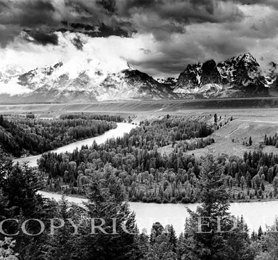 Snake River & The Tetons, Jackson Hole, Wyoming 95