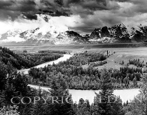 Snake River & The Tetons, Jackson Hole, Wyoming 95