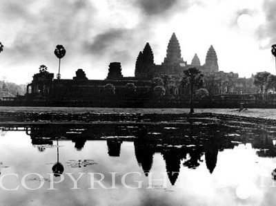 Angkor Wat At Sunrise, Siem Reap, Cambodia 03