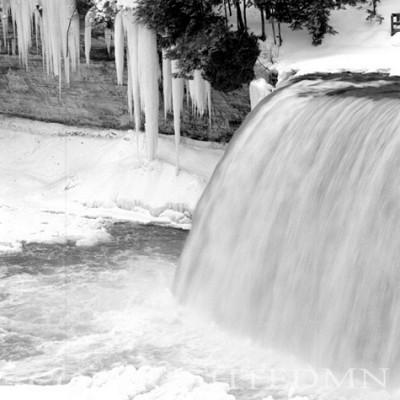 Taquamenon Falls In Winter, Michigan 91
