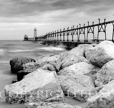 Approaching Storm, Grand Haven, Michigan