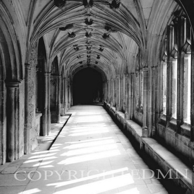 Arches & Shadows, Lacock Abbey, England 00