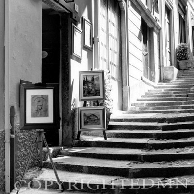 Art On The Steps, Bellagio, Italy 01