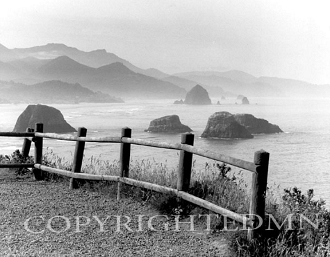 View From Ecola Park, Cannon Beach, Oregon 02