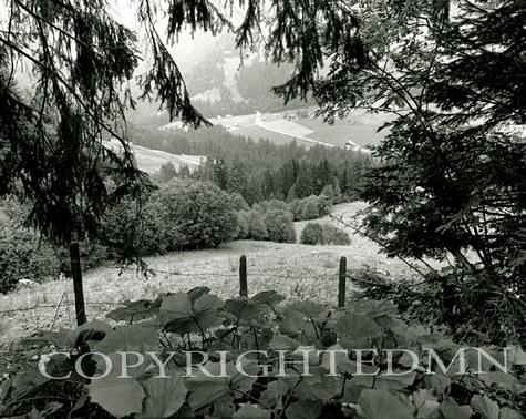 View of Etivaz, Etivaz, Switzerland