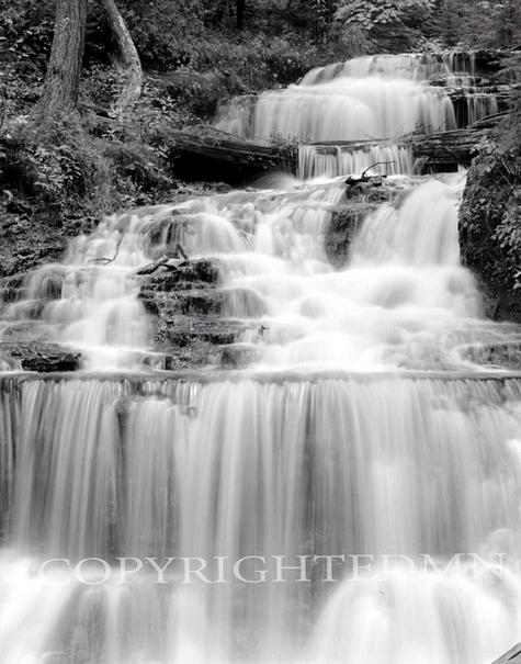 Wagner Falls Close Up, Michigan 90