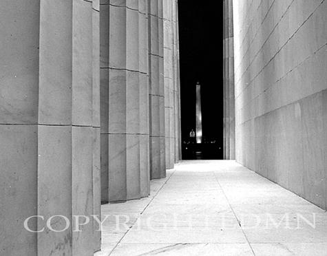 Washington Monument From Lincoln Memorial, Washington D.C. 99-03
