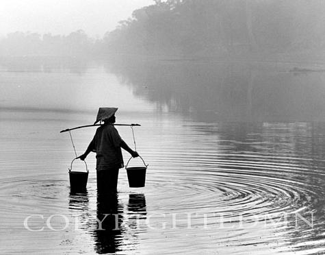 Water Gatherer, Siem Reap, Cambodia 03