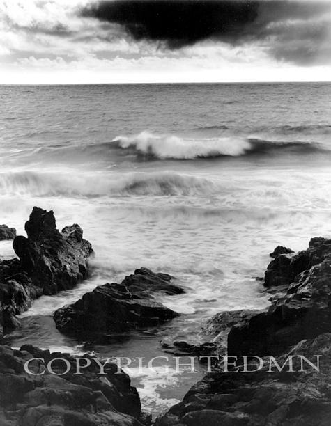 Waves At Hanna Coast, Maui, Hawaii 00