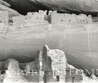 White House Ruins (Detail), Canyon de Chelly, Arizona