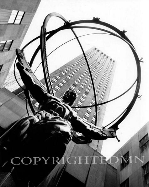 Atlas, Rockefeller Square, New York