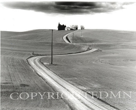 Winding Road, Palouse Washington 03