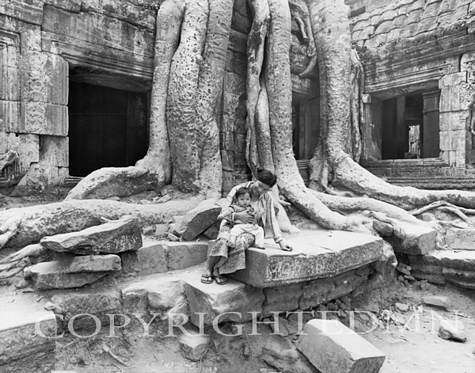 Family Roots, Angkorwat, Cambodia 07