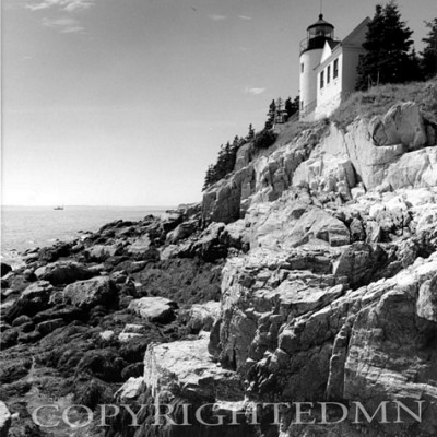 Bass Harbor Head Lighthouse & Foothill, Maine