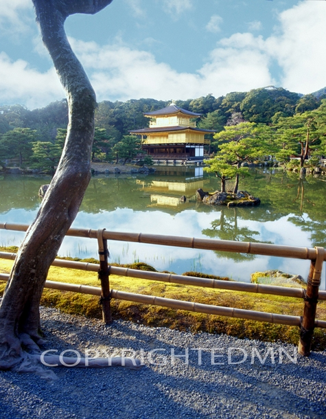 The Golden Palace, Kyoto, Japan 05 – Color