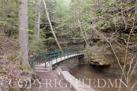 Bridge at Hocking Hills, Ohio 09 – color