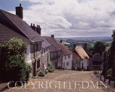 Gold Hill #2, Shaftesbury, England 96 – color