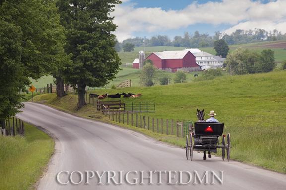 Buggy & Farm, Holmes County, Ohio 10-color