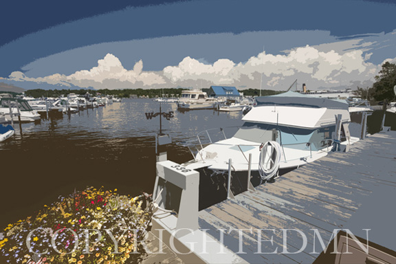 Saugatuck Marina #2, Saugatuck, Michigan 10 – painterly