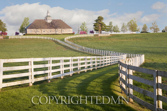Winding Fence & Farm, Lexington, Kentucky 10-color