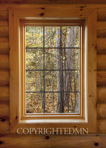 Window and Fall Foliage, Naubinway, Michigan 10-color.jpg