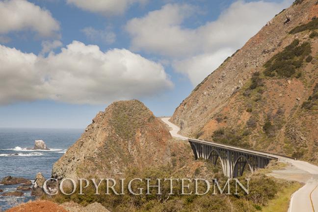 Highway 1, Big Sur, Califronia 11 – color