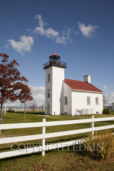 Sandpoint Lighthouse, escanaba, Michigan 10 – color