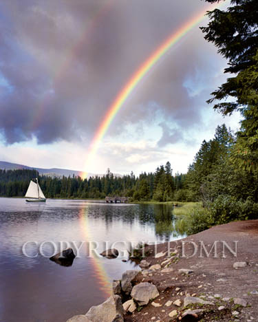 Sailing Under Rainbows, Oregon 97 – Color