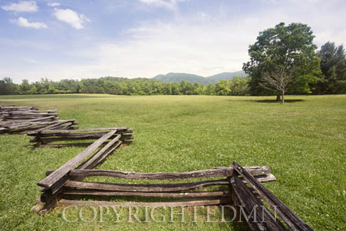 Split Rail Fence #2, Great Smokey Mountians – Color