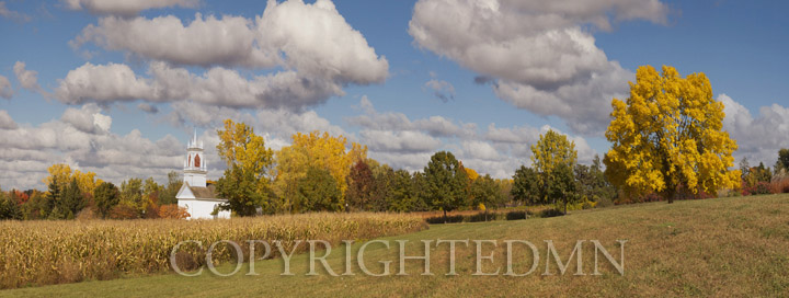 Heritage Hill Panorama, Green Bay, Wisconsin 12-color