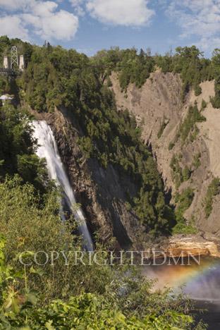 Montmorency Falls, Quebec City, Canada 12-color