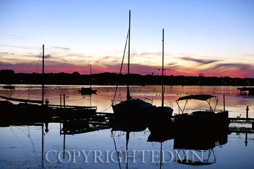 Sunset At Sturgeon Bay, Door County, Wisconsin 12-color