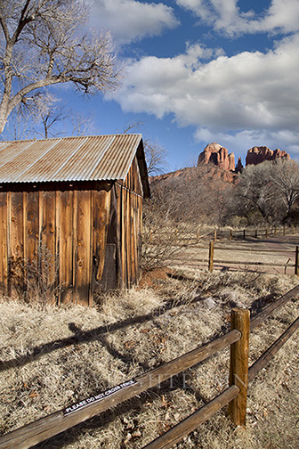 Cabin at Cathedral Rocks, Sedona, Arizona 13 – Color