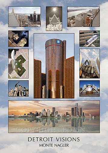Detroit Visions Poster