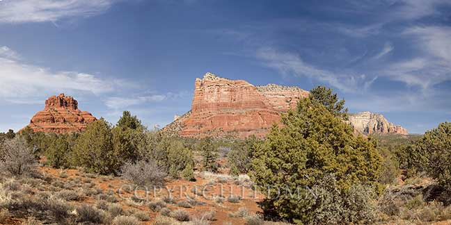 Red Rock Panorama, Sedona, Arizona 13-color