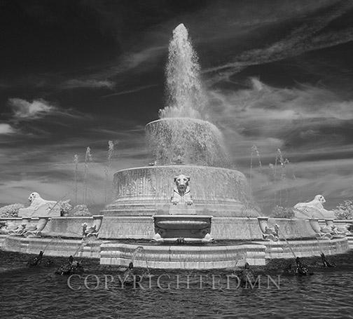 Scott Fountain, Detroit, Michigan 14-IR