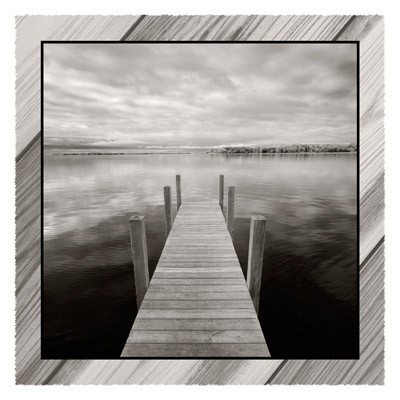 Dock At Crooked Lake - Geometric
