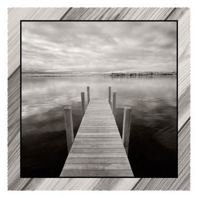 Dock At Crooked Lake - Geometric