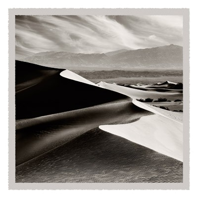Dunes At Mesquite Flats - Geometric