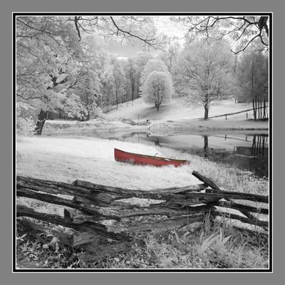 Lone Canoe - Geometric
