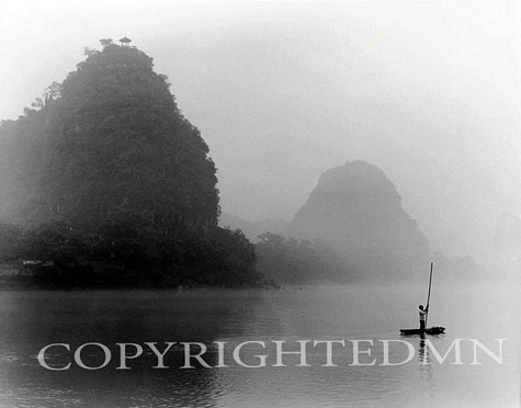 Fisherman & Mist, Guilin, China 91